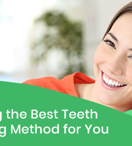 Choosing the Best Teeth Whitening Method